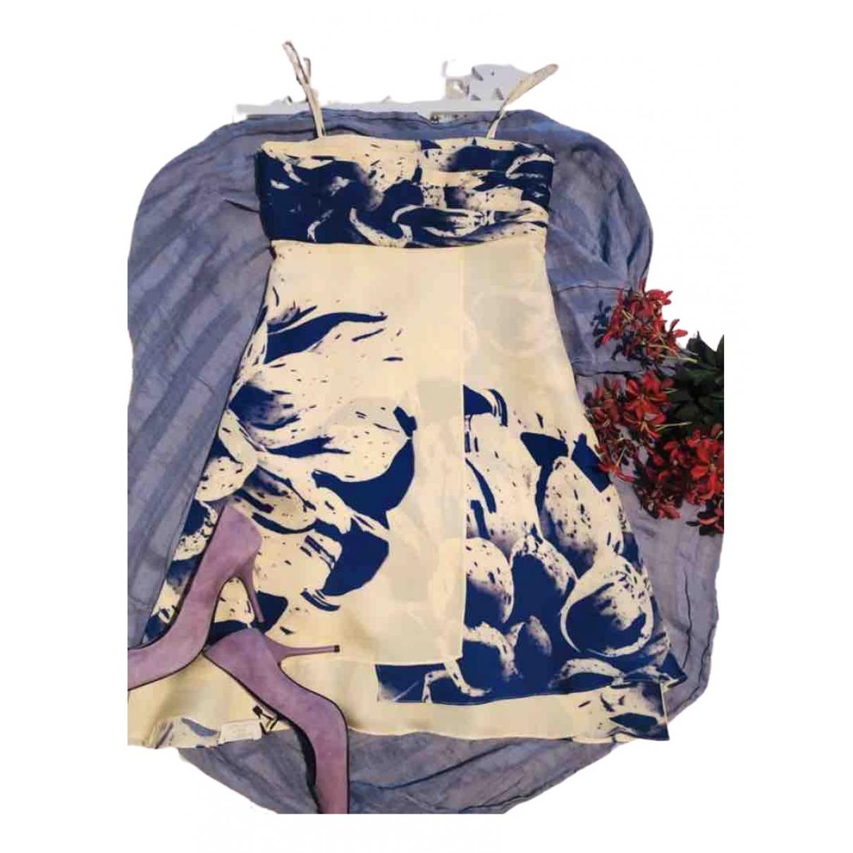 Pedro Del Hierro \N Kleid in  Lila Seide