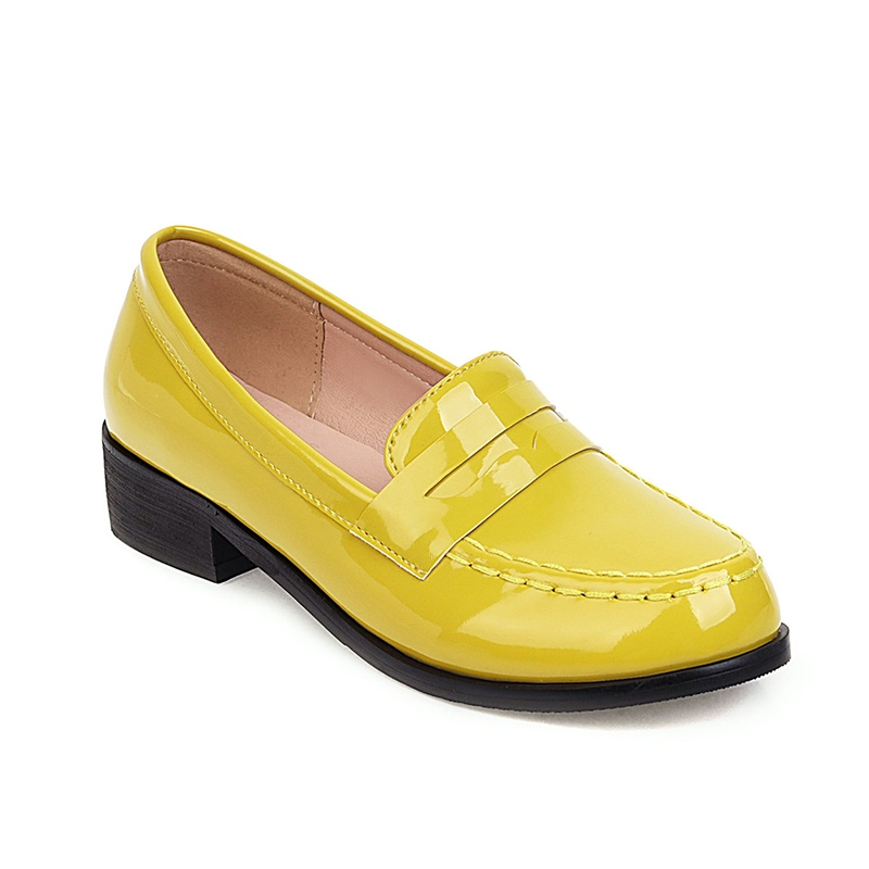 Ericdress Slip-On Thread Round Toe 3cm Thin Shoes