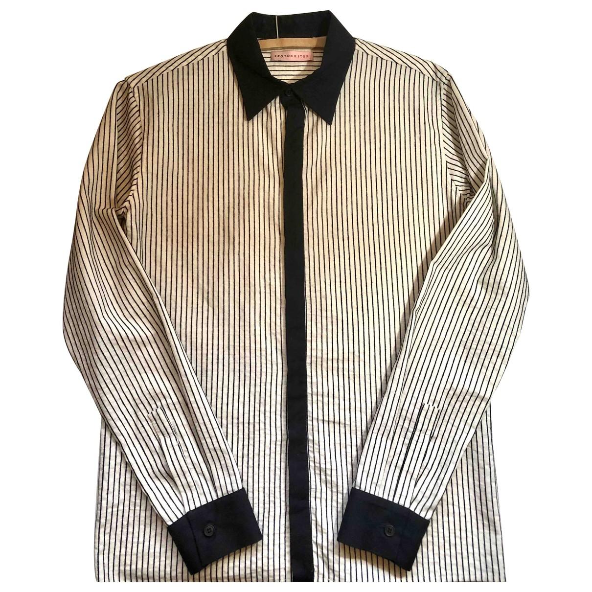Erotokritos - Chemises   pour homme en coton - multicolore