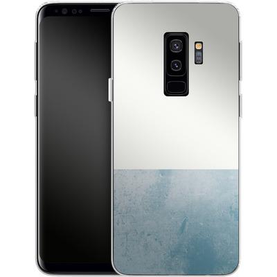 Samsung Galaxy S9 Plus Silikon Handyhuelle - Colour Block Blue von caseable Designs