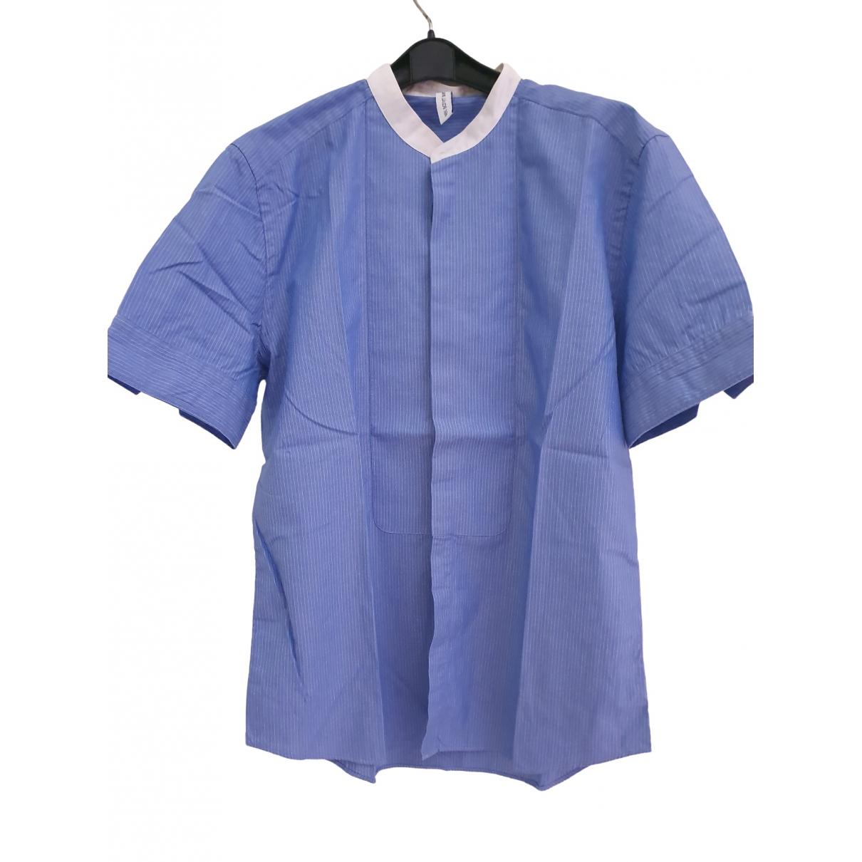 Neil Barrett \N Blue Cotton Shirts for Men M International