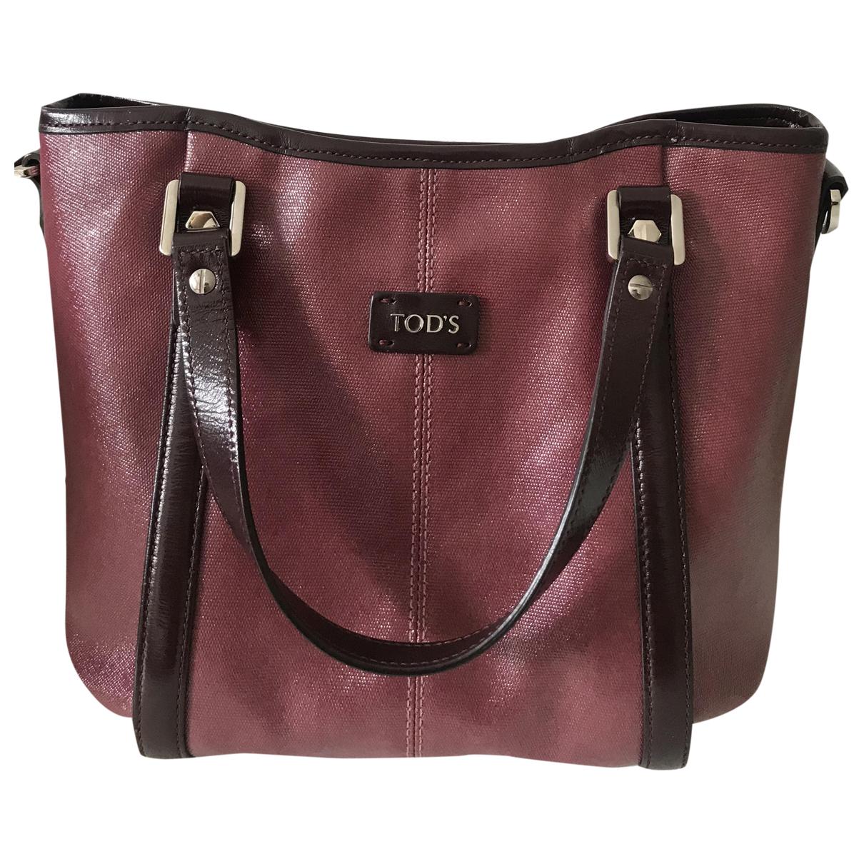 Tod's \N Purple Cloth handbag for Women \N