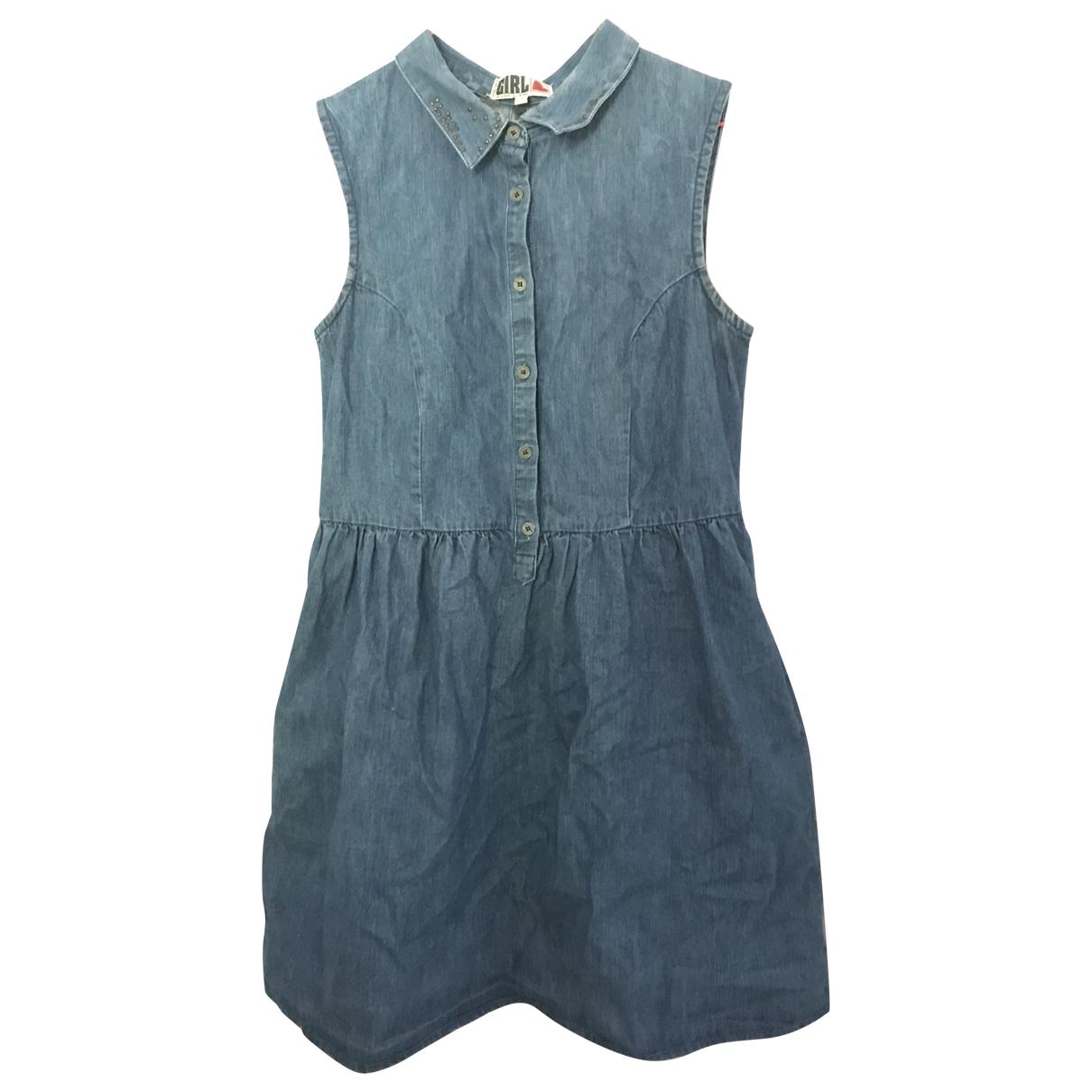 River Island \N Kleid in  Blau Denim - Jeans