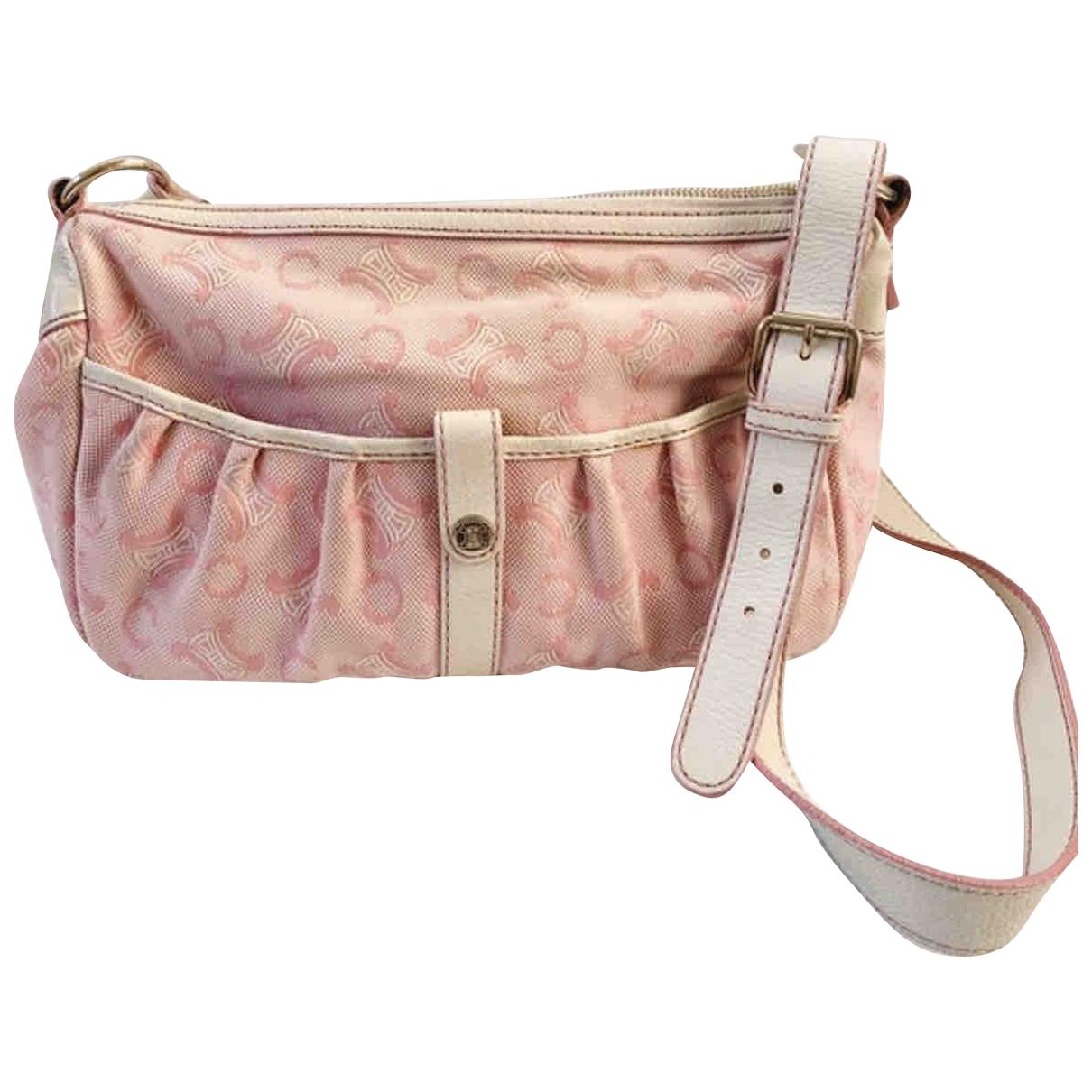Celine \N Pink Denim - Jeans handbag for Women \N