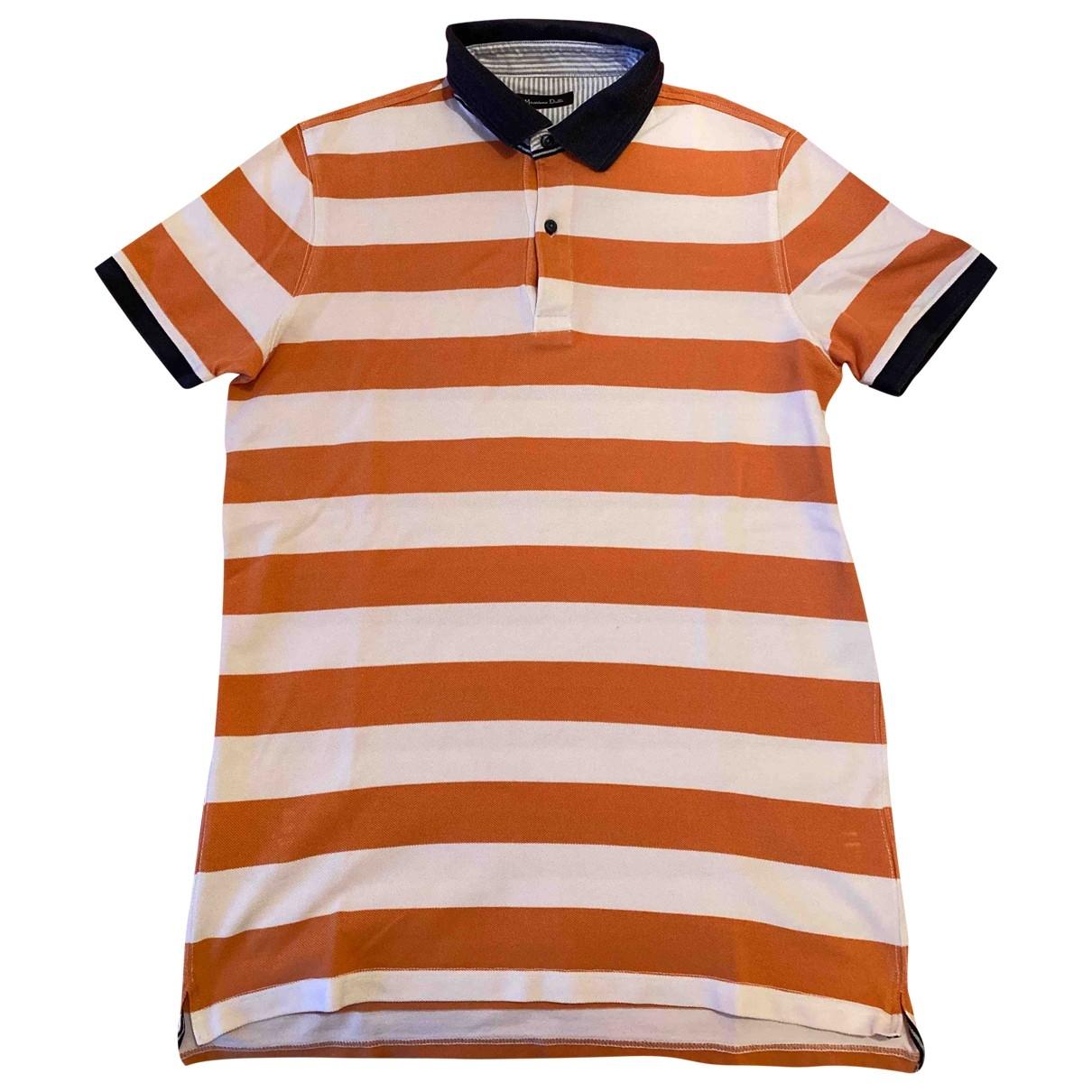 Massimo Dutti \N Poloshirts in  Bunt Baumwolle