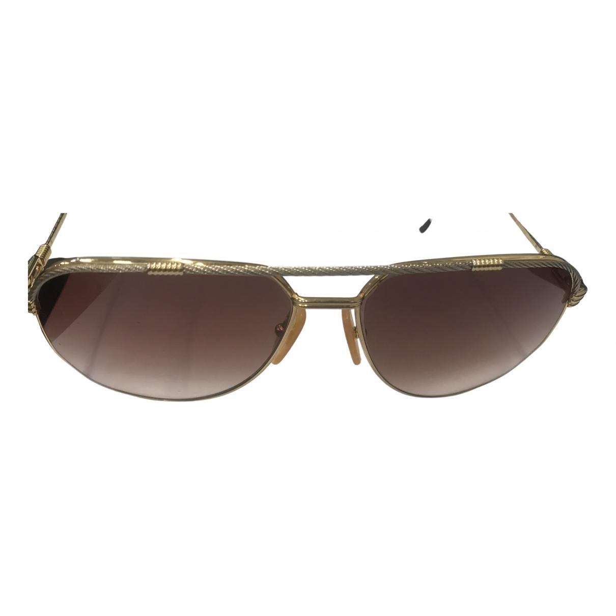 Fred \N Gold Metal Sunglasses for Men \N