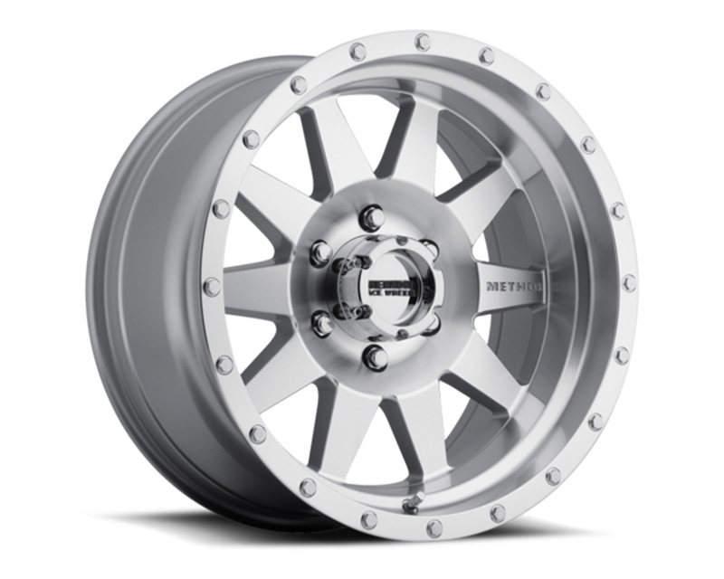 Method MR301 The Standard Machined Clear Coat Wheel 20x9 8x6.5 18mm