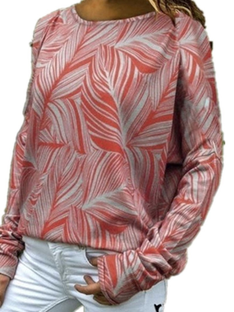 Ericdress Long Sleeve Standard Round Neck Fall Loose T-Shirt