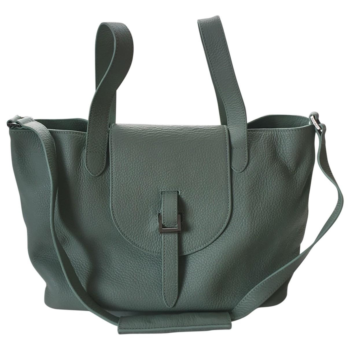 Meli Melo \N Turquoise Leather handbag for Women \N