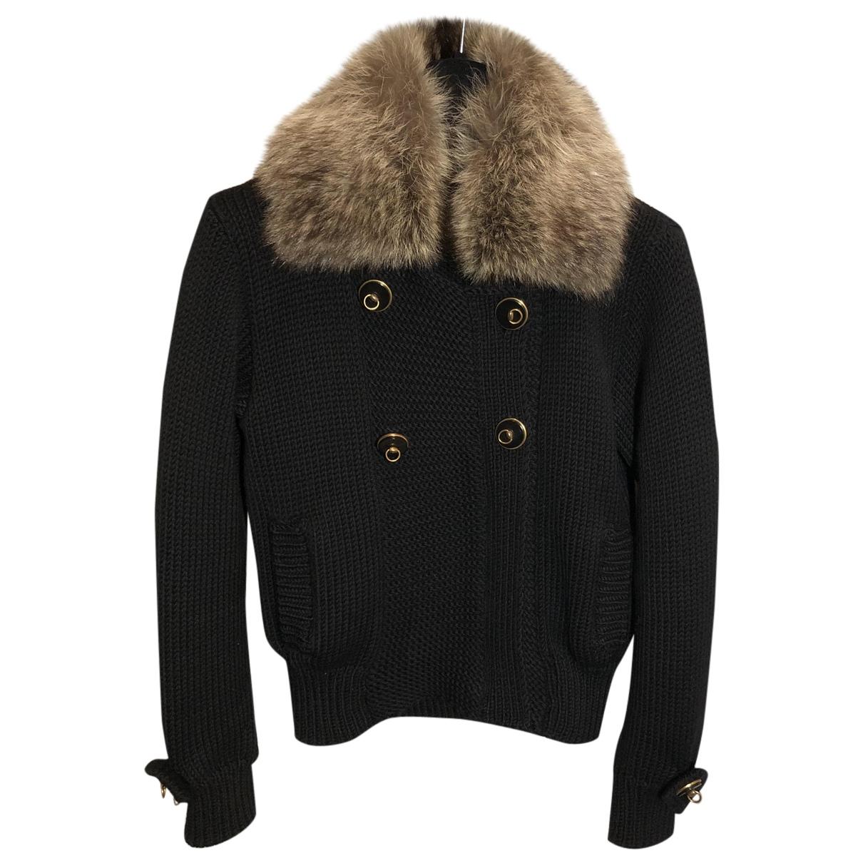 Gucci N Black Wool Knitwear for Women M International