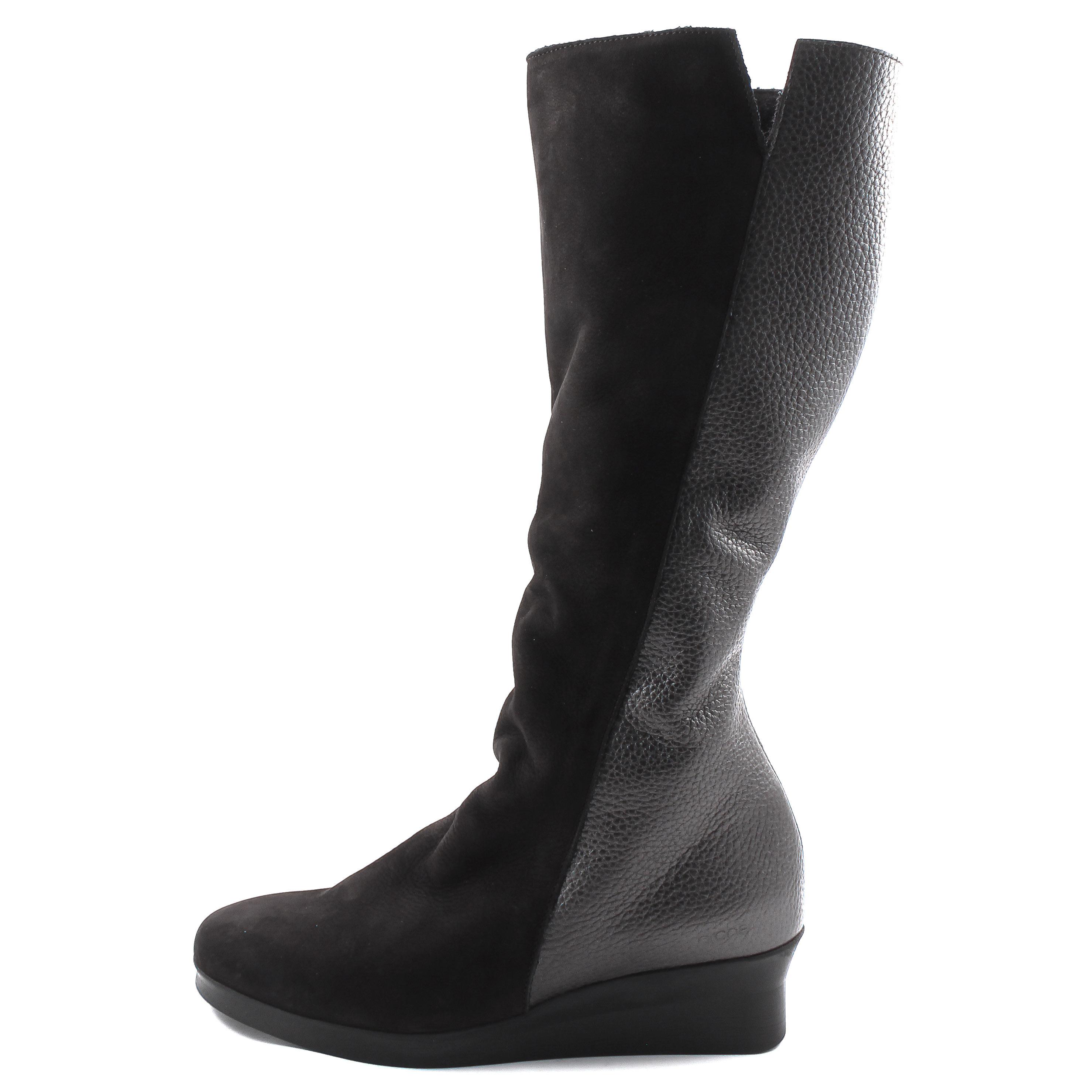 Arche, Abeska Damen Stiefel, black Größe 42