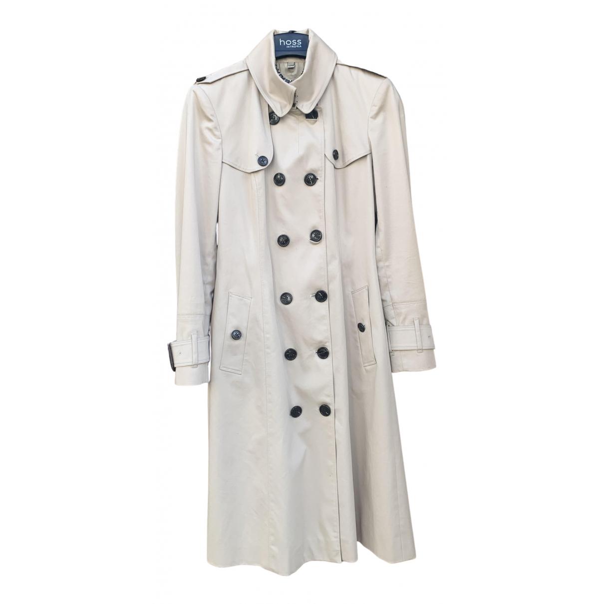 Burberry N Beige Cotton Trench coat for Women 42 IT