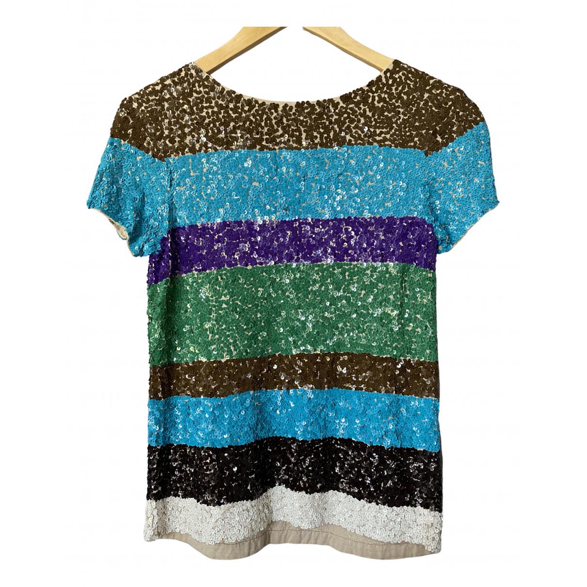 Antik Batik N Multicolour Cotton  top for Women 36 FR