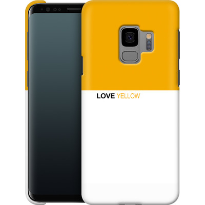 Samsung Galaxy S9 Smartphone Huelle - LoveYellow von caseable Designs