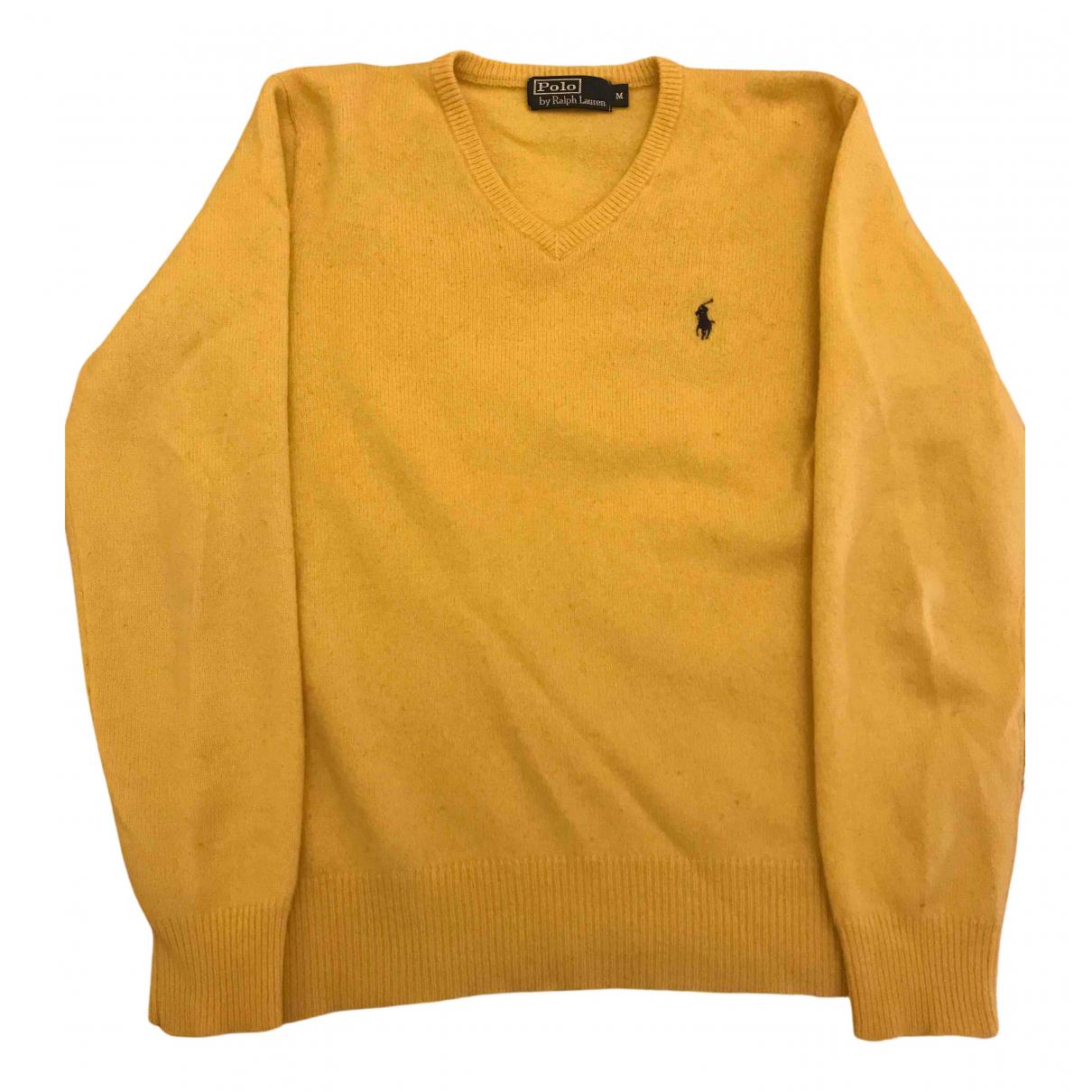 Polo Ralph Lauren \N Pullover.Westen.Sweatshirts  in  Gelb Wolle