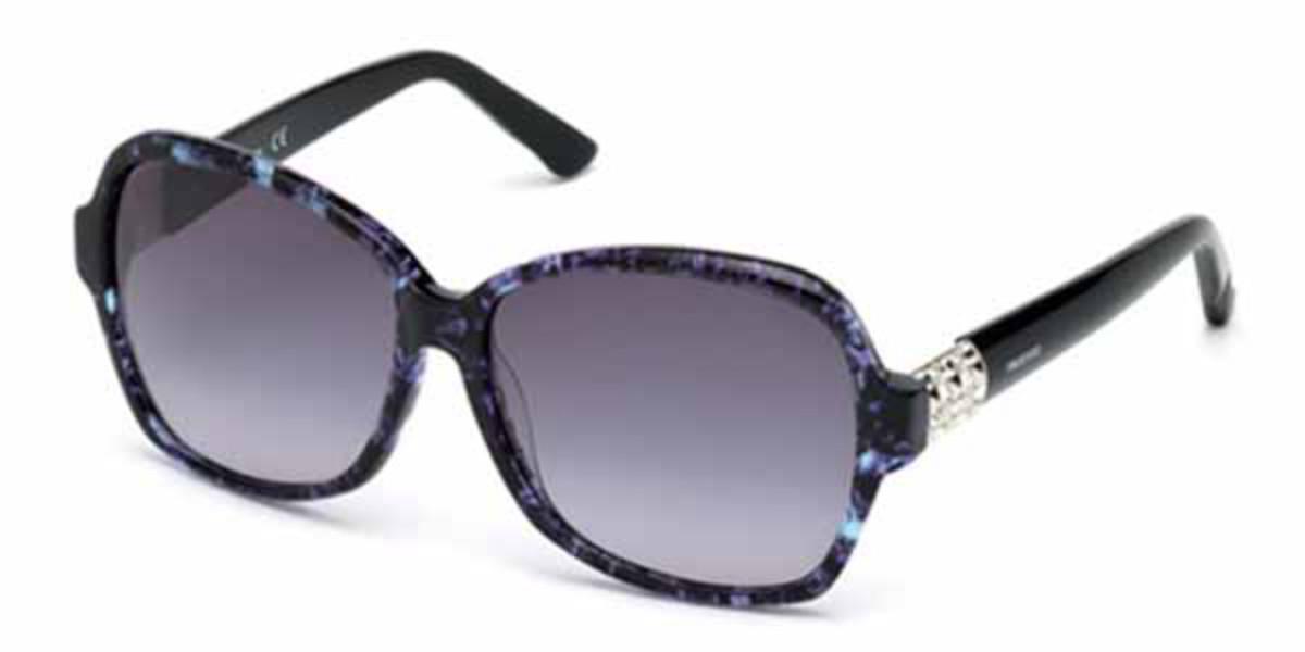 Swarovski SK0088 83W Women's Sunglasses Blue Size 60