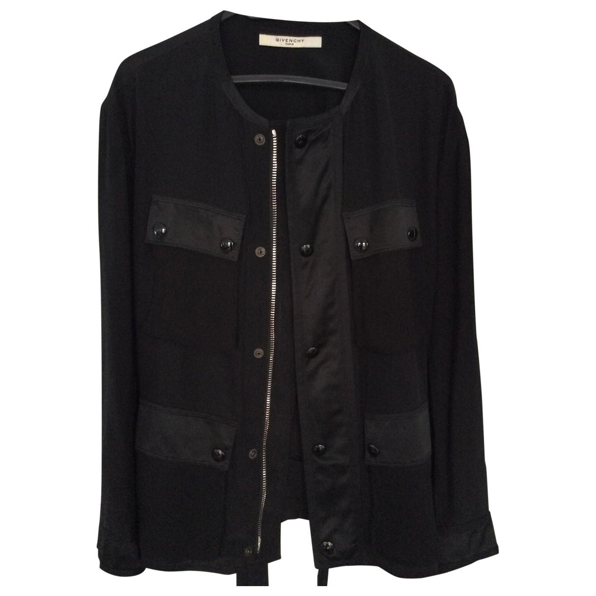 Givenchy - Veste   pour femme en soie - noir