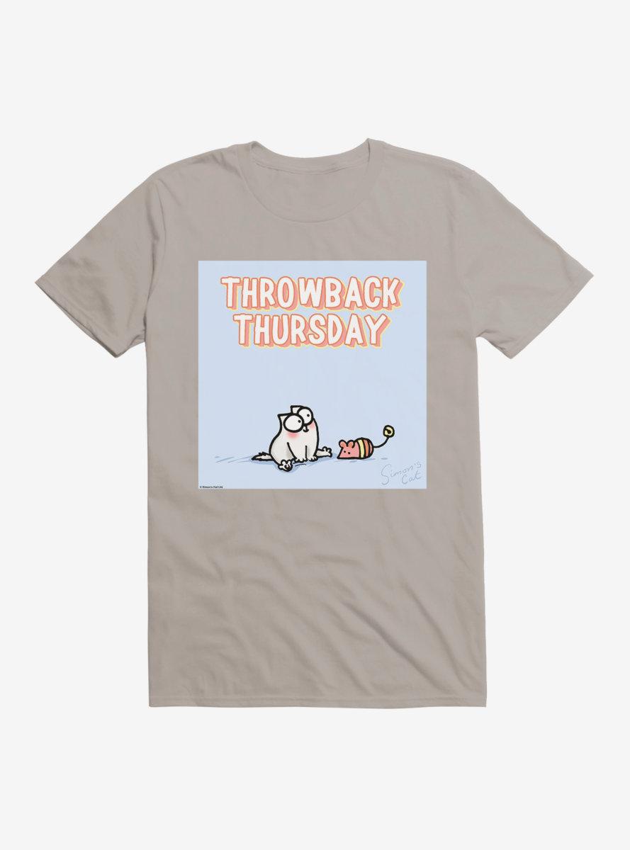 Simon's Cat Throwback Thursday T-Shirt