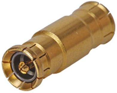 Huber & Suhner Straight 50Ω RF Adapter MBX Plug to MBX Plug 6GHz