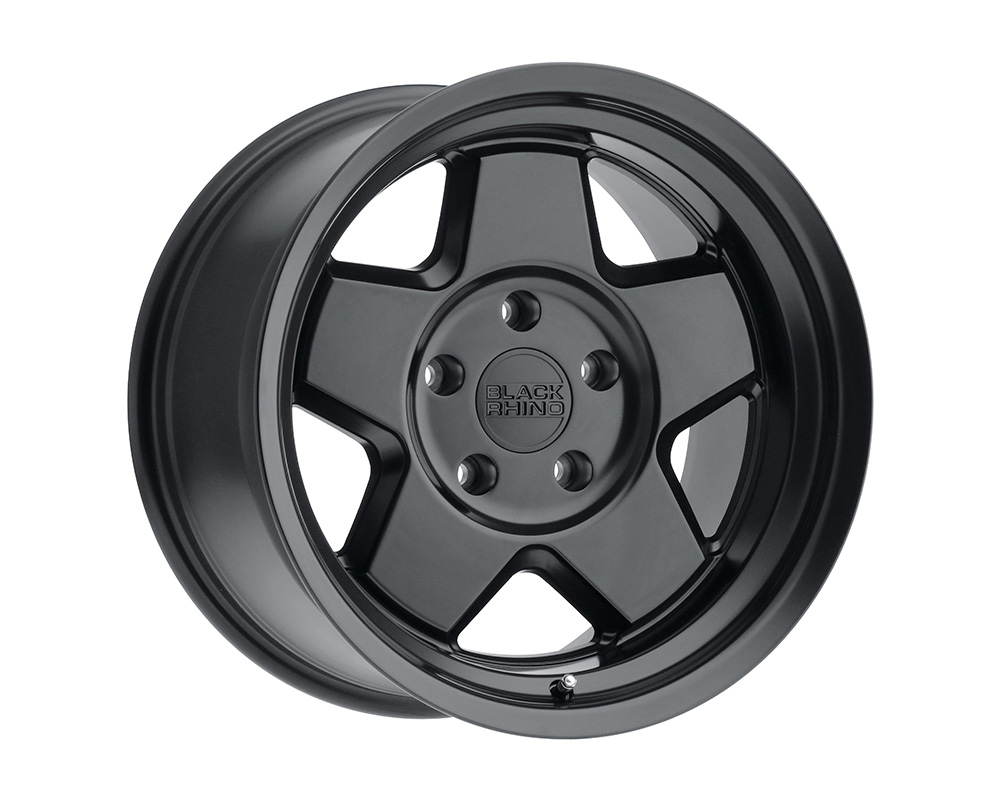 Black Rhino Realm Wheel 20x9.5  5x127 -18mm Semi Gloss Black