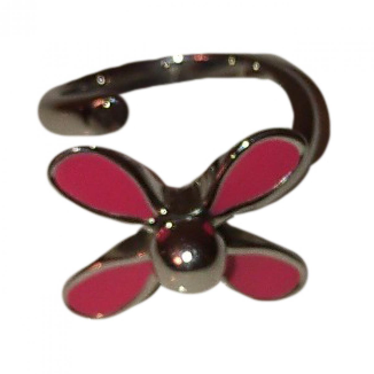 Swatch - Bague   pour femme en acier - rose