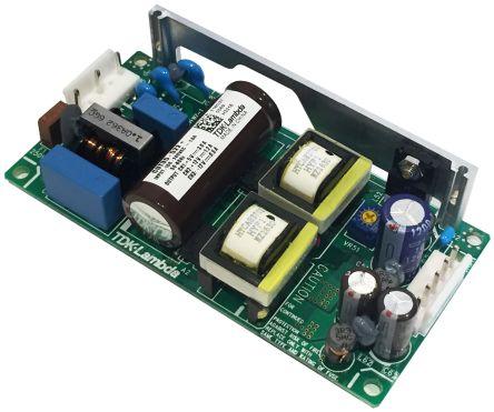 TDK-Lambda , 15/20.4W Embedded Switch Mode Power Supply SMPS, 5 V dc, ±12 V dc, Open Frame, Medical Approved