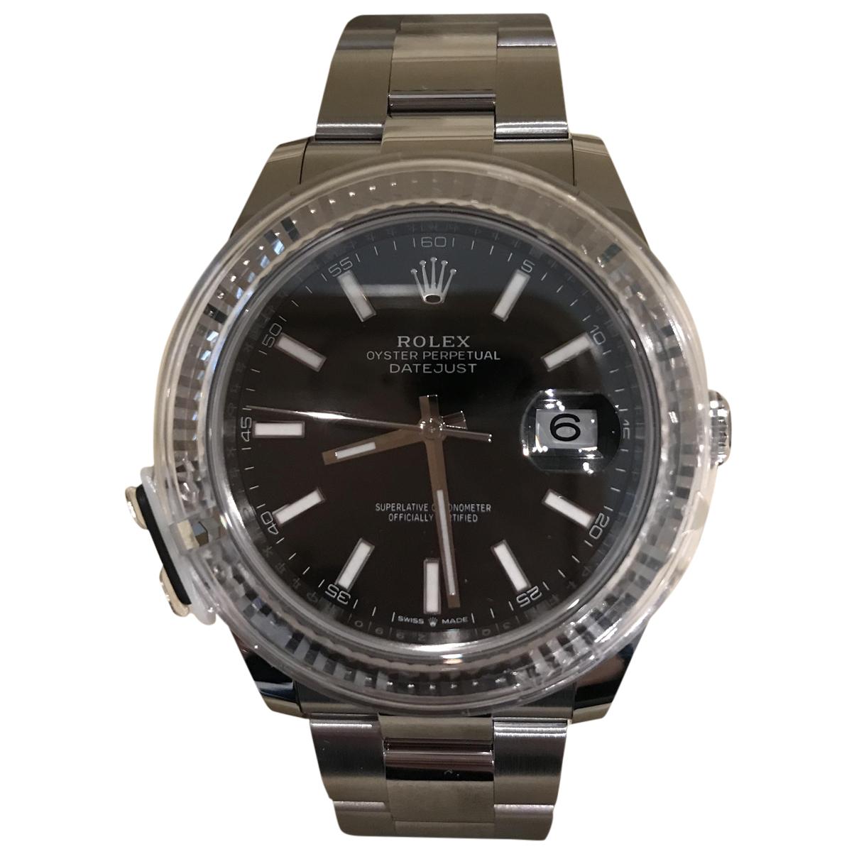 Rolex - Montre DateJust II 41mm pour homme en acier - gris