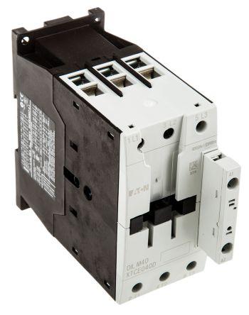 Eaton 3 Pole Contactor - 40 A, 110 V ac Coil, xStart, 3NO, 18.5 kW