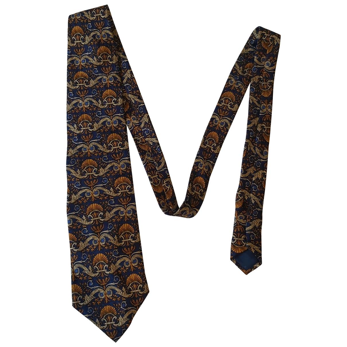Givenchy - Cravates   pour homme en soie - bleu