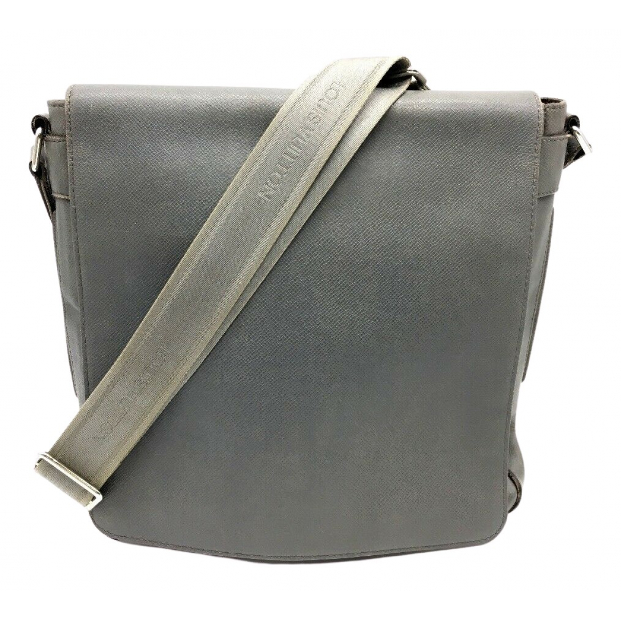 Louis Vuitton \N Handtasche in  Grau Leder