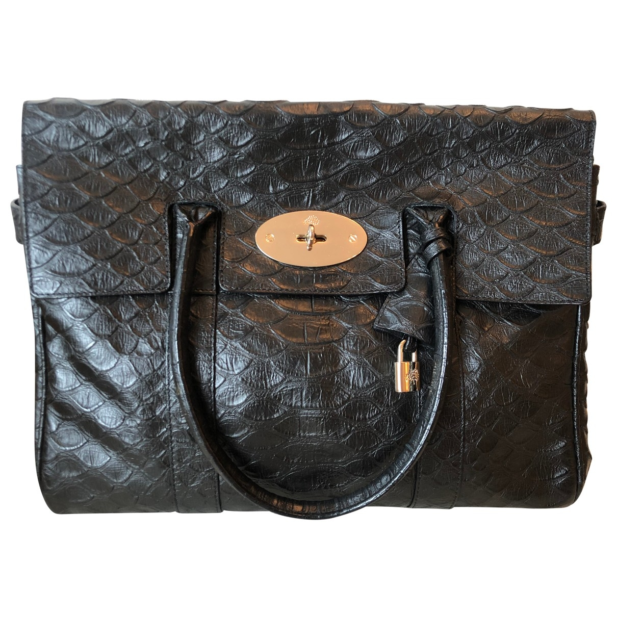 Mulberry Bayswater Black Exotic leathers handbag for Women \N