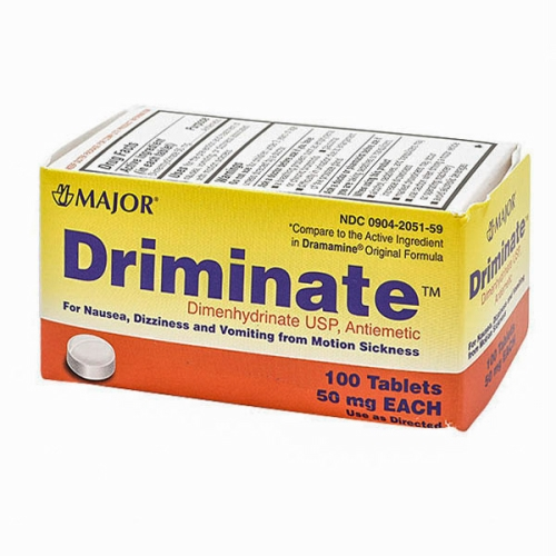 Driminate 100 Tabs by Major Pharmaceuticals