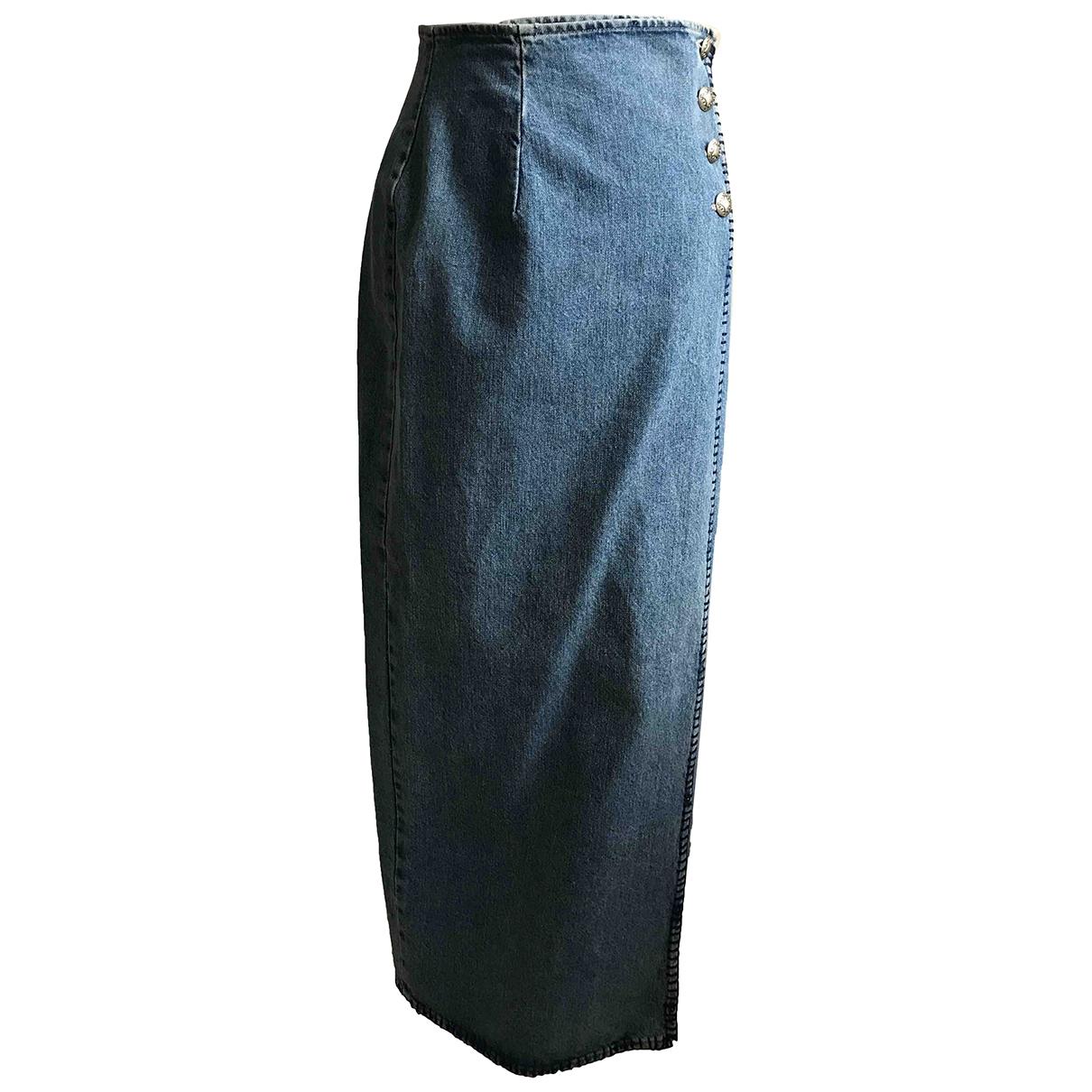 Ralph Lauren \N Rocke in  Blau Denim - Jeans