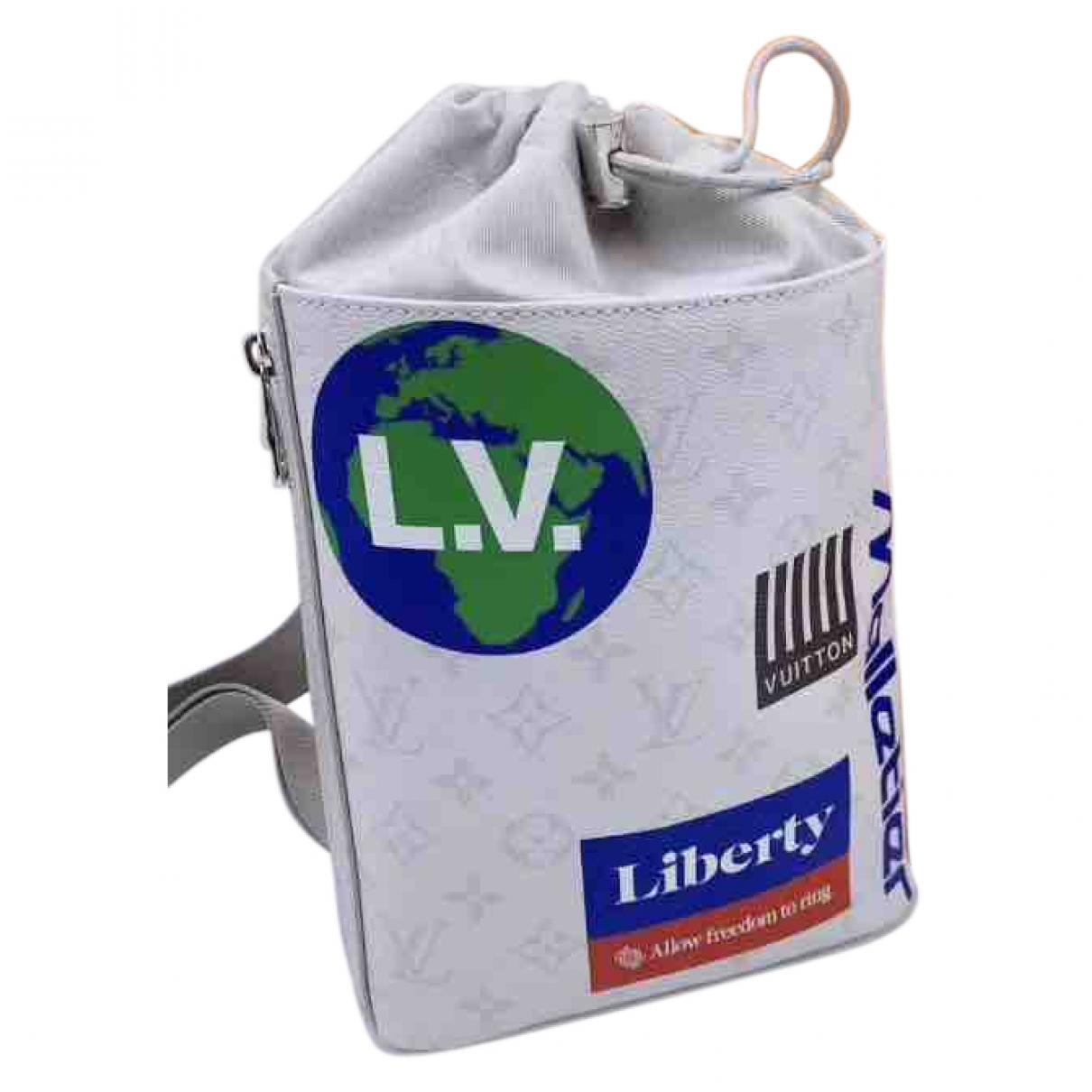 Louis Vuitton Chalk White Cloth bag for Men \N