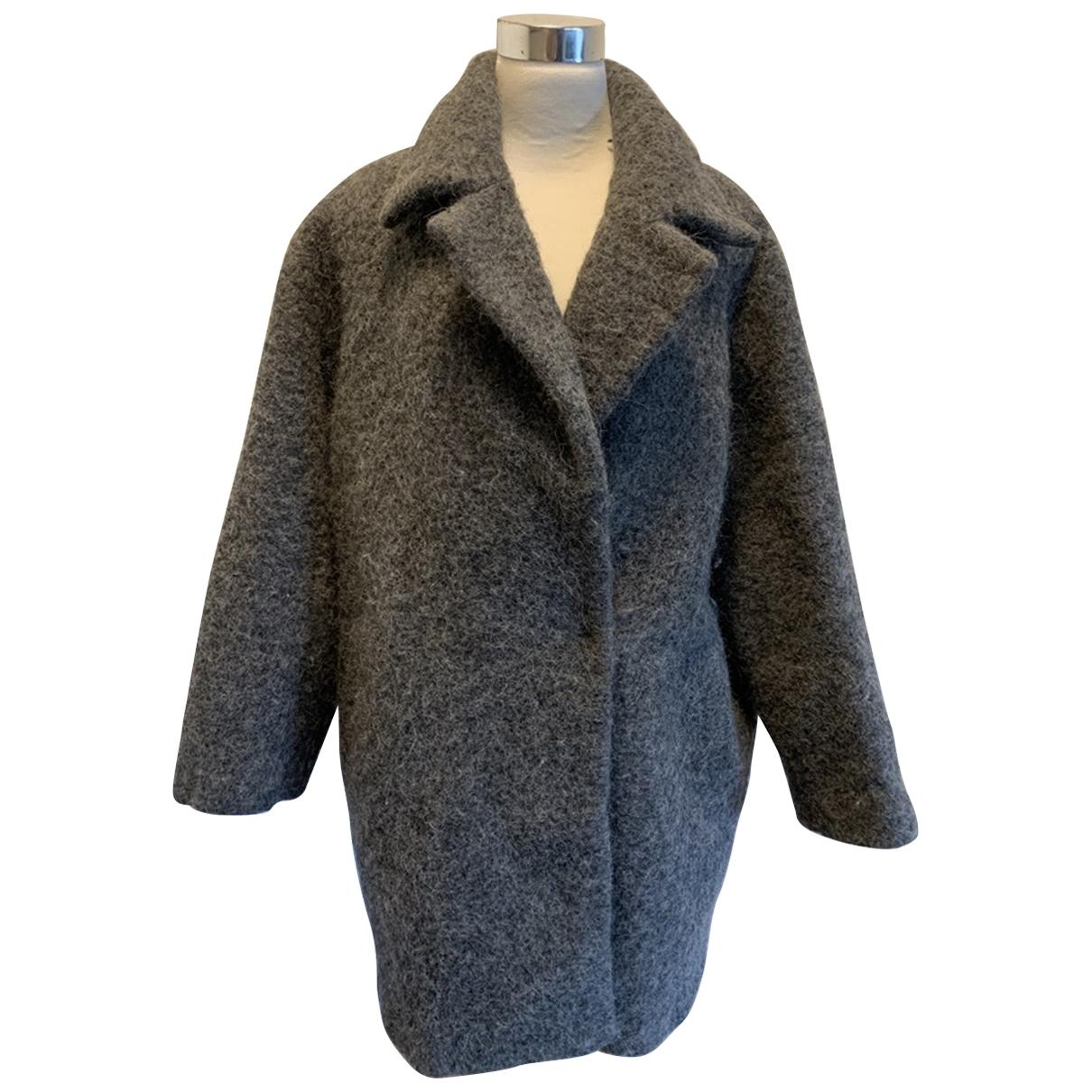 N°21 \N Grey Wool coat for Women 42 IT