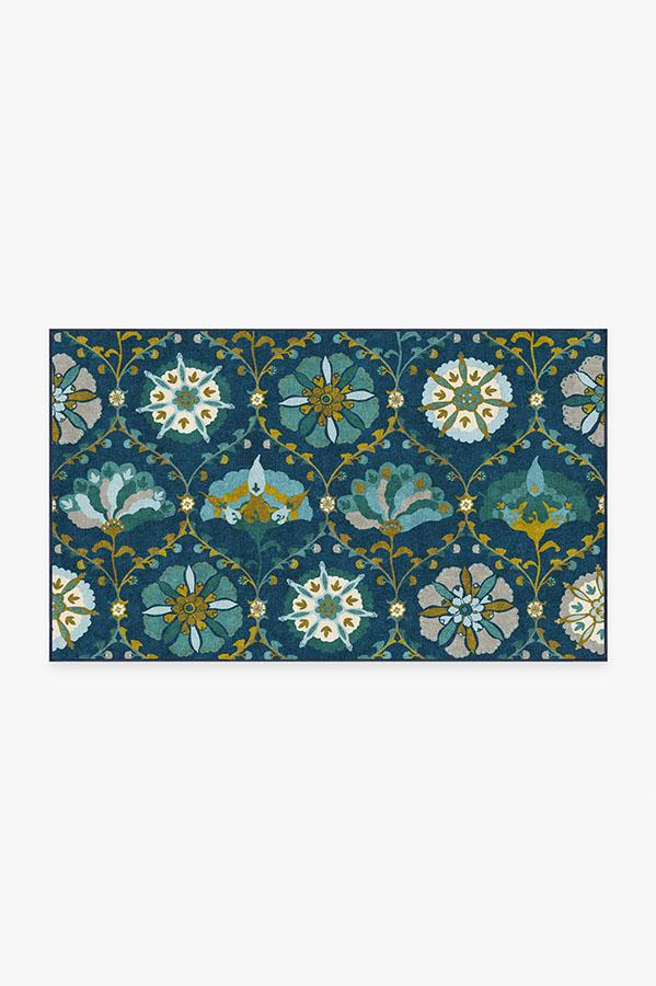 Washable Rug Cover   Safi Midnight Rug   Stain-Resistant   Ruggable   3'x5'