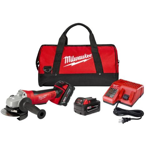 Milwaukee M18™ Cordless Lithium-Ion 4-1/2 In. Cut-Off / Grinder