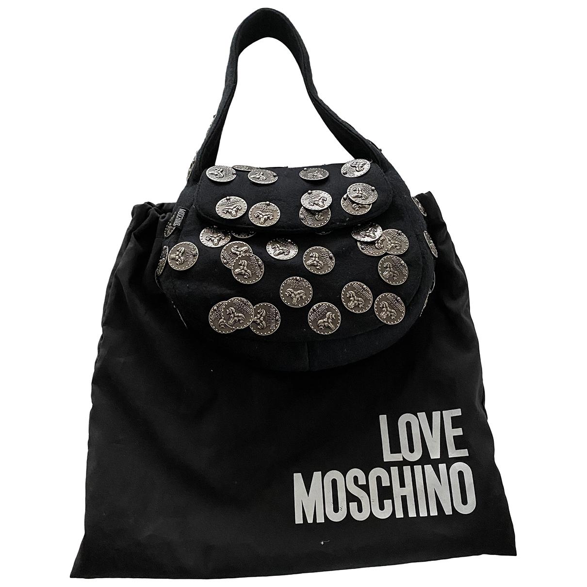 Moschino \N Black Wool handbag for Women \N