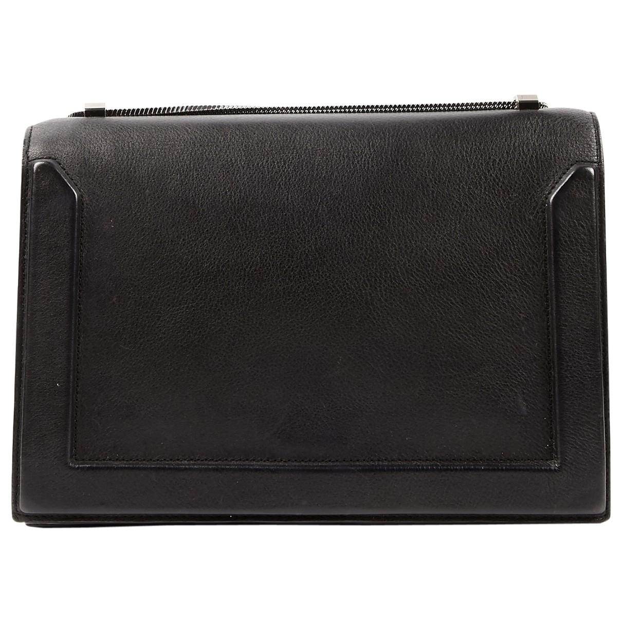 3.1 Phillip Lim \N Handtasche in  Schwarz Leder