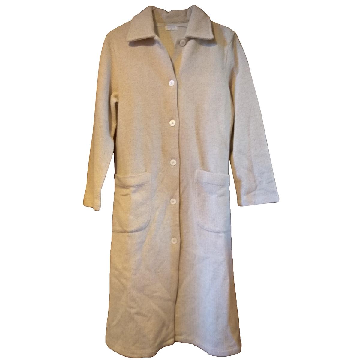 Non Signé / Unsigned \N Ecru Cotton jacket for Women M