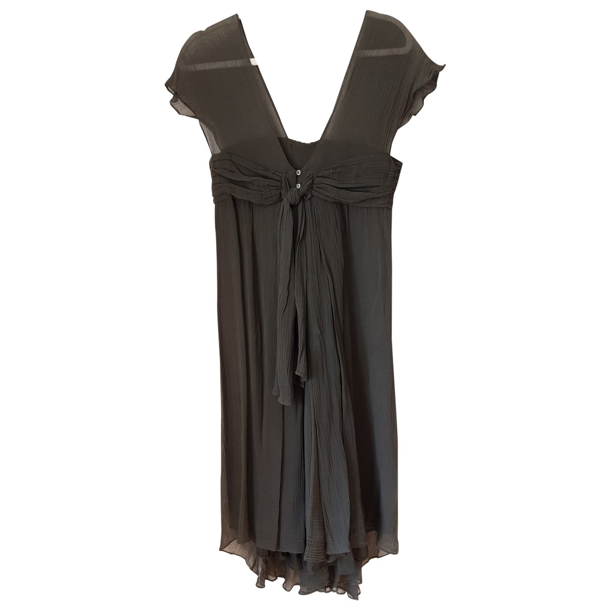 Nicole Farhi \N Grey Silk dress for Women 10 UK