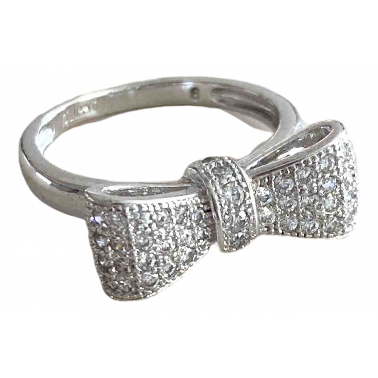 Non Signé / Unsigned \N Silver Metal ring for Women 6 US