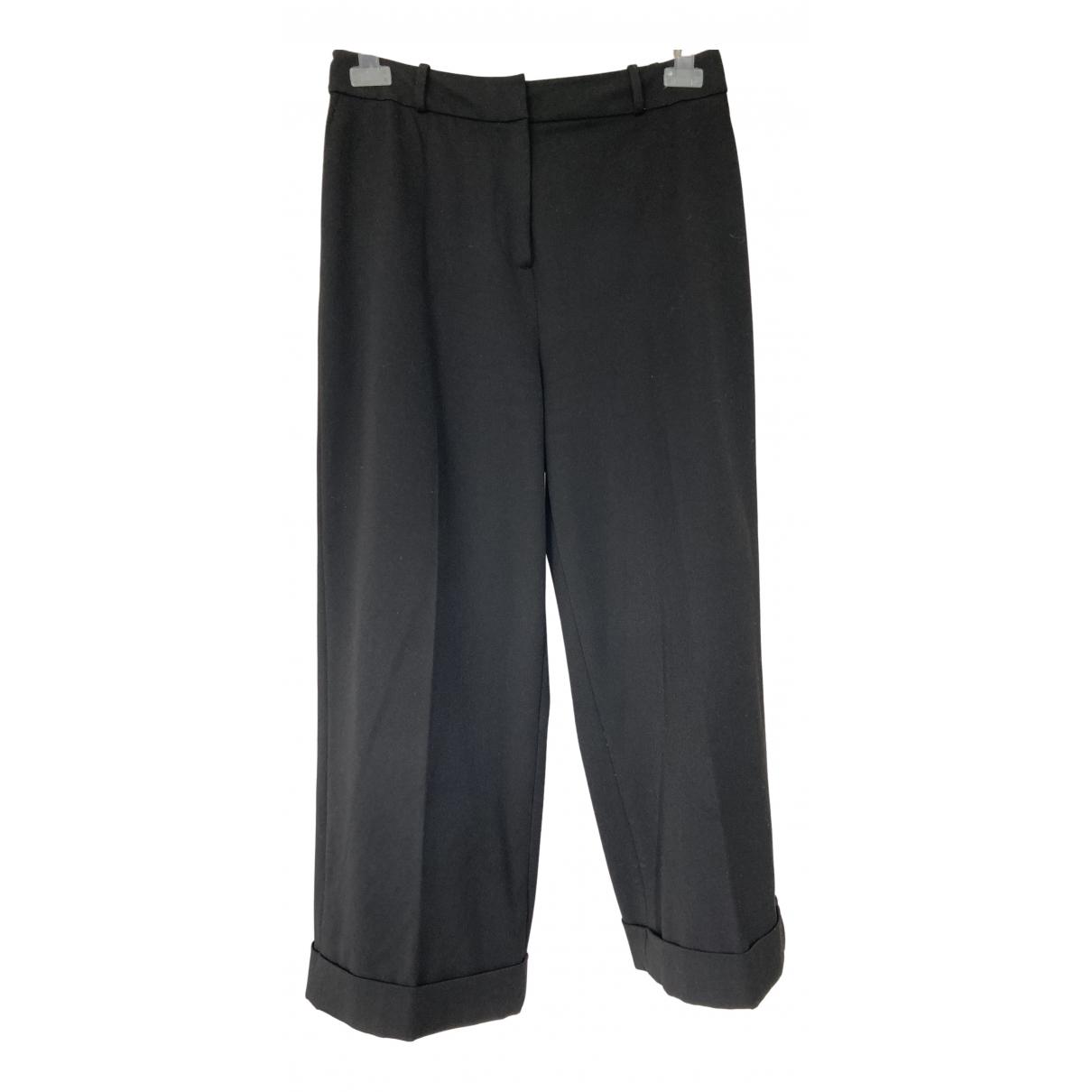 Pantalon en Poliester Negro Kate Spade