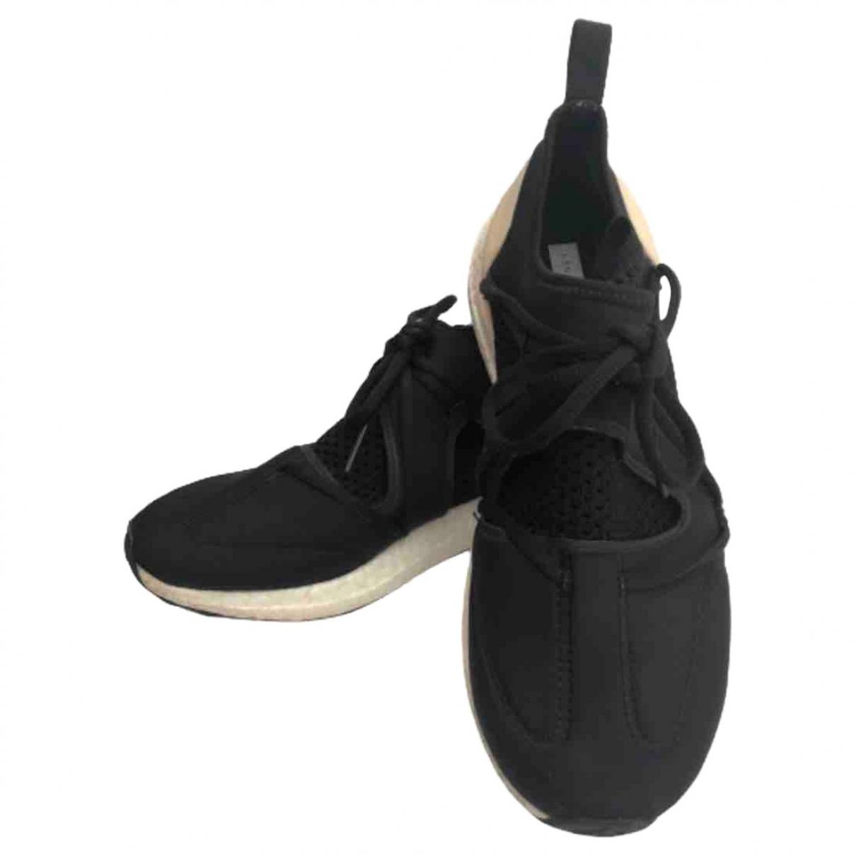 Stella Mccartney - Baskets   pour femme en toile - noir