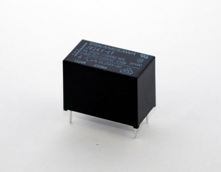 Fujitsu , 12V dc Coil Non-Latching Relay SPNO, 5A Switching Current PCB Mount Single Pole