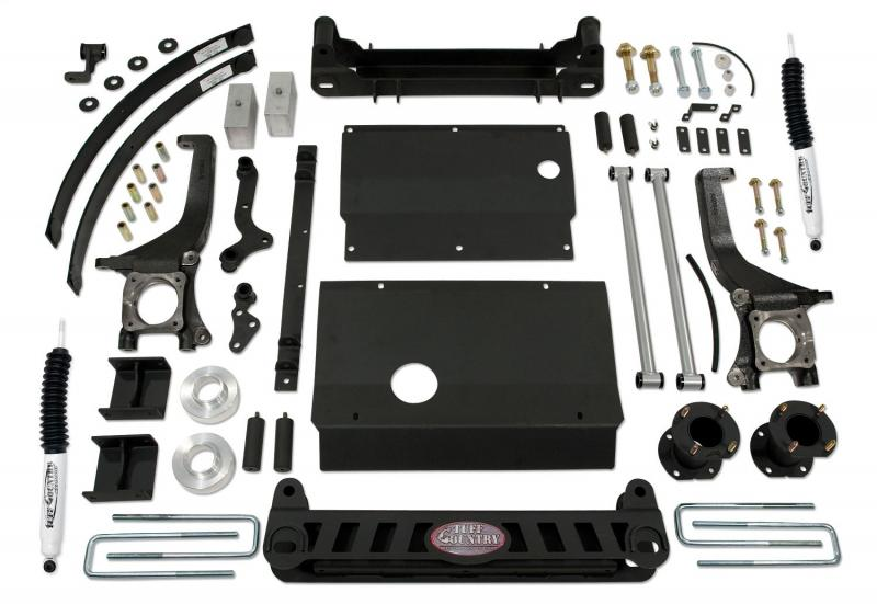Tuff Country 56070KN Complete Kit (w/SX8000 Shocks)-6in. Toyota Tundra