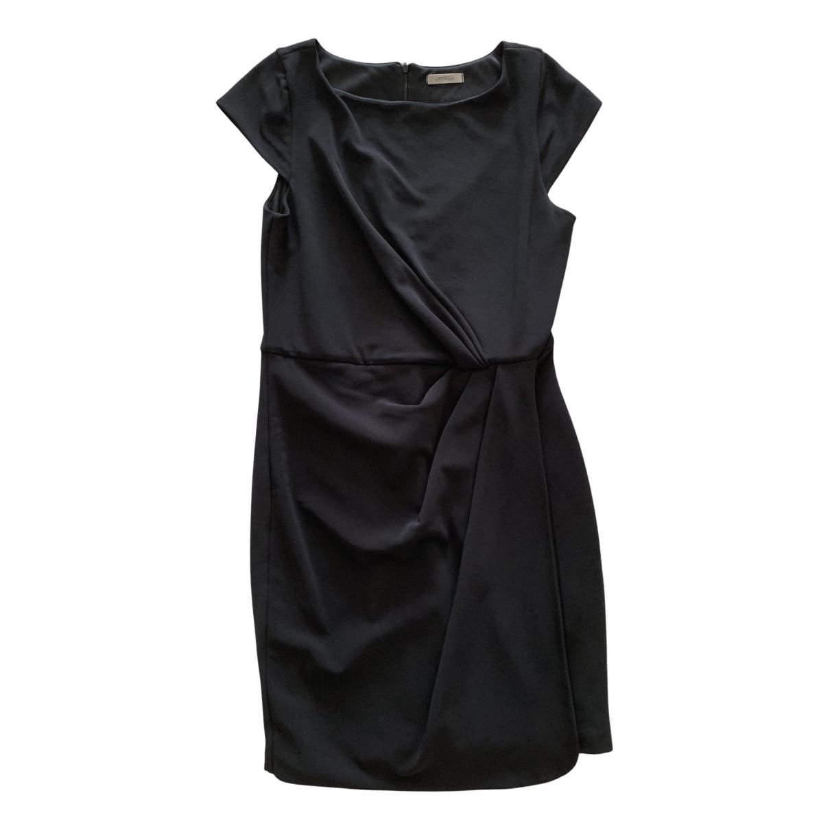 Uterque \N Kleid in  Schwarz Polyester