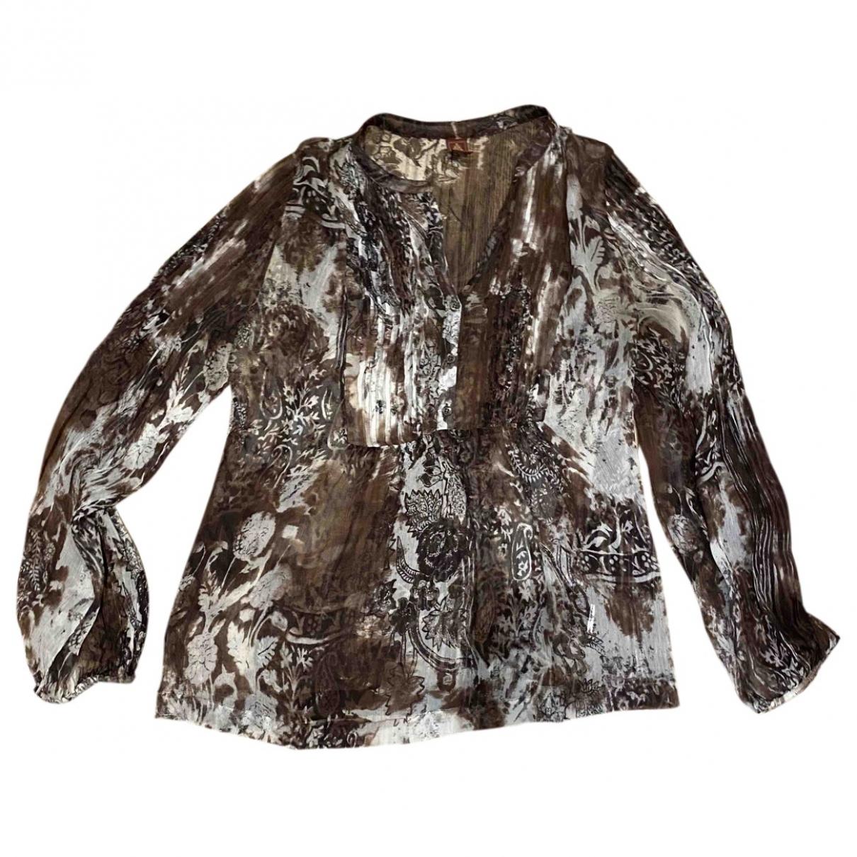 Dondup \N Brown Silk  top for Women M International