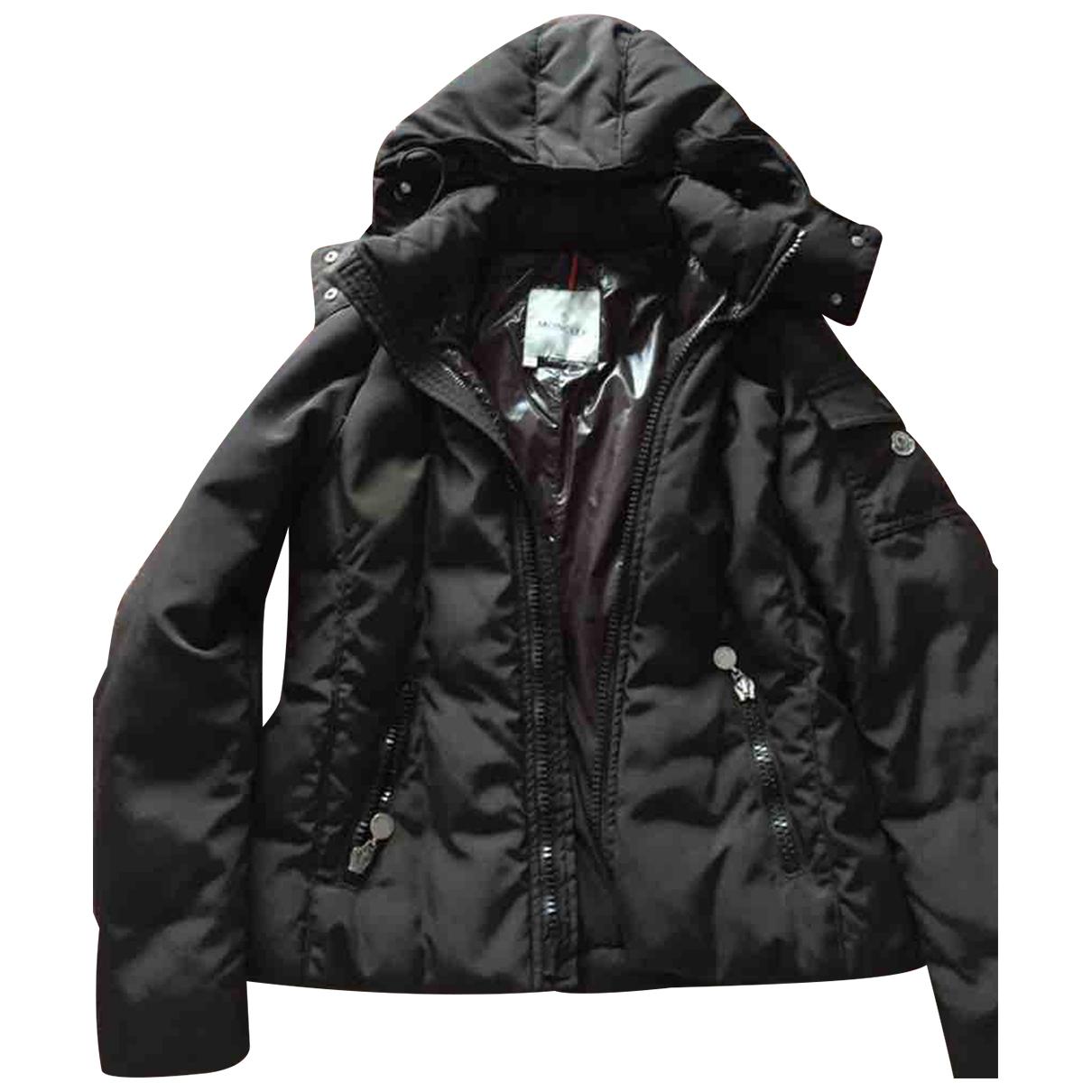 Moncler - Manteau Hood pour femme - marron