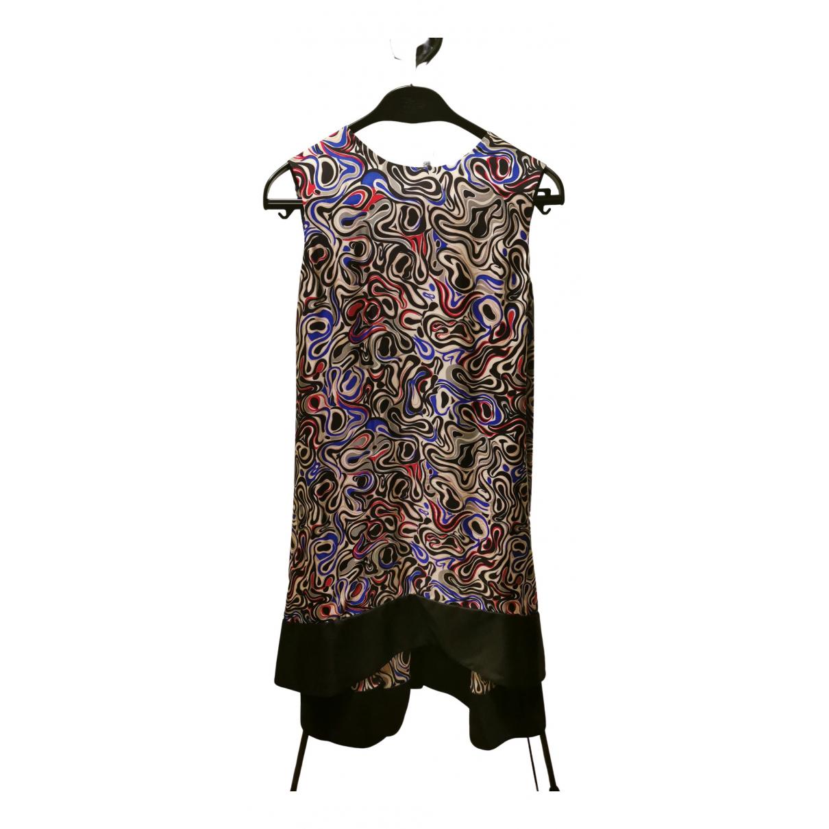 Balenciaga \N Kleid in  Bunt Leinen